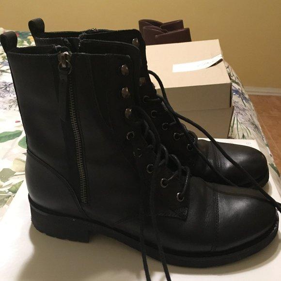 La risa Hacer la cama Eléctrico  Geox Shoes | Geox Black Boots D New Virna A D545a | Poshmark